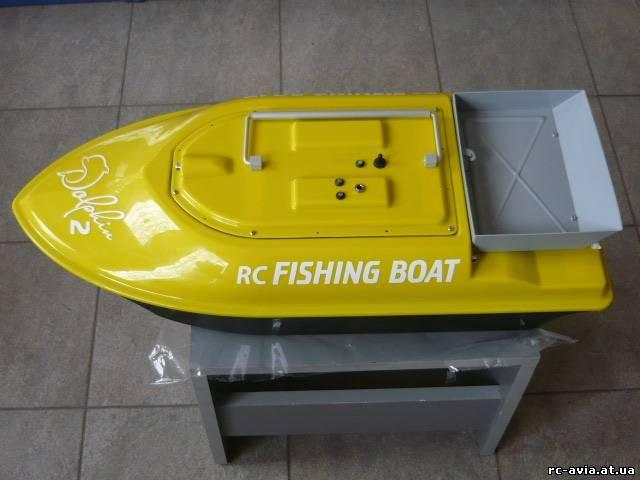как установить датчик эхолота на кораблик